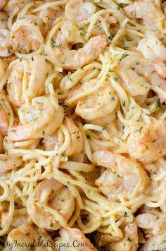 Incredibly easy Bang Bang Shrimp Pasta!