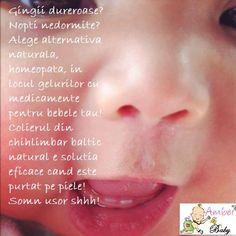 Bebe are dureri de gingii de la cresterea dintilor?