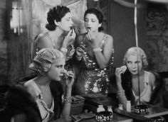 "Kay Francis and Lilyan Tashman in ""Girl About Town"" 1931."