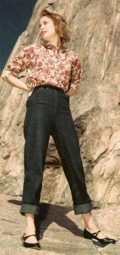If Fairy May wears pants. Grace Kelly. Portrait by Bud Fraker.