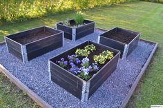 Pin by Unique Container Plant Ideas on Container Gardening Ideas Backyard Vegetable Gardens, Garden Compost, Vegetable Garden Design, Container Plants, Container Gardening, Wooden Garden Planters, Hydroponic Plants, Garden Beds, Garden Inspiration