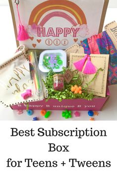 iBbeautiful Teen and Tween Subscription Boxes for girls Mystery Box Subscription, Subscription Boxes For Tweens, Subscriptions For Kids, Subscription Gifts, Monthly Subscription, Cool Gifts For Teens, Birthday Gifts For Teens, Birthday Box, Teen Boxing