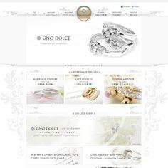 ゴージャスな凝ったデザインのホームページ | イイネ!WEBデザイン