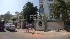 Holi Festival. Celebrating Holi Festival in Jaipur, India on March 17, 2014.  Visit us: away2travel.wordpress.com