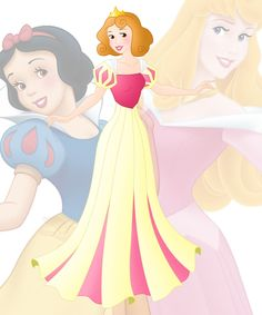 disney+fusion:+Aurora+and+Snow+White+by+Willemijn1991.deviantart.com+on+@DeviantArt