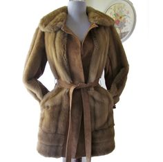 Lilli Ann vintage faux fur Coat by BoudoirBarbie on Etsy
