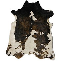 Faux Cowhide // Overstock.com, $161.99 (on sale)
