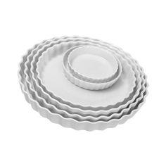 Pillivuyt Round Tart and Quiche Pans (20 AUD) ❤ liked on Polyvore featuring home, kitchen & dining, bakeware, tart baking pan, tart dish, pillivuyt, tart pan and pillivuyt bakeware