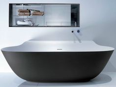 Ovale Badewanne aus Cristalplant® SCOOP | Badewanne - FALPER