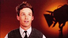 When his hand did this to his hair. | Community Post: 17 Times Eddie Redmayne Was Bae