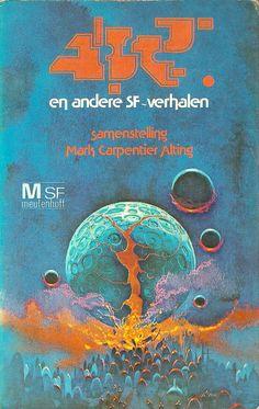 sci fi book cover art | Join Bklyn | Dutch Sci Fi Book Covers