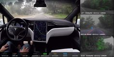 See what Tesla's fully self-driving cars see on the road rite.ly/jG6J
