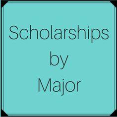 Scholarships by Major/Academic Discipline