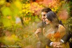 This adorable autumnal engagement shoot will put a spring in your step!