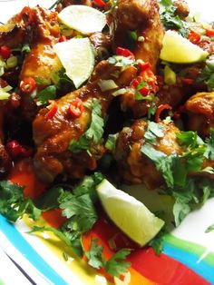 Tamarind and Chile Chicken Wings