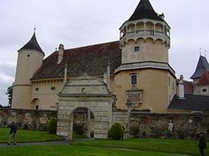 Rosenburg is a castle in the municipality Rosenburg-Mold, Lower Austria, Austria. Rosenburg is situated on a cliff above the valley of the River Kamp at a height of 345 meters. It is one of Austria's most visited Renaissance castles.