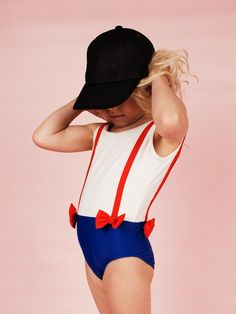 Brace swimsuit by Mini Rodini