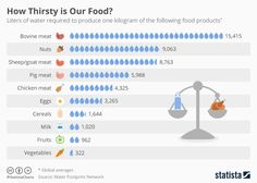 Makeover Monday: Do you know how much water it takes to produce the animal products we eat?