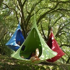 Cacoon Hammock - really love this and would be great in our garden!