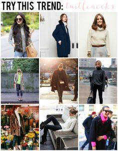 La Petite Fashionista // Try This Trend: Turtlenecks >> Shop the Post: http://lapetitefashionista.blogspot.com/2014/01/try-this-trend-turtlenecks.html