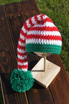Christmas Elf Hat / Elf Photo Prop / Elf Hat by CraftyMidwestMama, $15.00