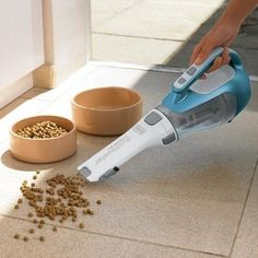 A hand vacuum that gobbles up messes, large and small. | Here's What People Want Most On Amazon This Week