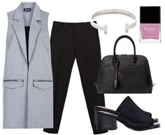 StyleOnHigh | What to Wear to a Fashion Show (When You're Not Olivia Palermo). Look #2: Keep it Simple.