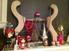 Lizz the Fabulizer: Christmas Mantel