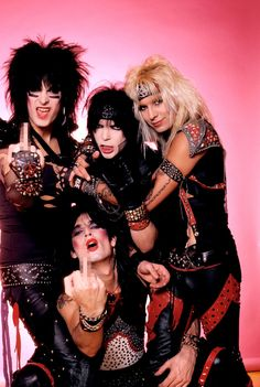 Motley Crue/Def Leppard/Poison/Joan Jett and the Blackhearts Rock N Roll, Rock And Roll Bands, Tommy Lee, Nikki Sixx, Hair Metal Bands, 80s Hair Bands, Glam Rock Bands, Vince Neil, Glam Metal