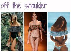 Off Shoulder - tendências de moda para a praia