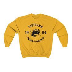 Tiefling Sweatshirt - Gold / XL
