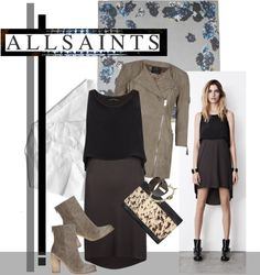 """""""ALLSAINTS: Spring Fresh"""" by emyemoemu ❤ liked on Polyvore"""