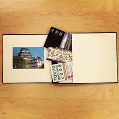 All KINSHO Photo Albums have a back pocket to stash your keepsakes together with your photo collection!