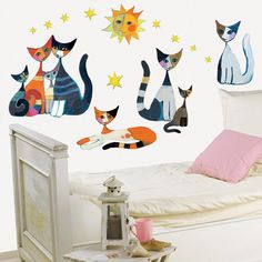 Rosina Wachtmeister - Cat Wall Decals