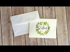 45 best strathmore cards images on pinterest in 2018 watercolor watercolor holiday greeting card youtube m4hsunfo