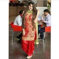 Patiala Salwar, Shalwar Kameez, Anarkali, Punjabi Girls, Punjabi Suits, Indian Suits, Indian Wear, Salwar Suits Party Wear, Punjabi Fashion