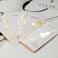 New Kawaii Cute Gold Musical Instruments Metal Book Markers Bookmark For Books Paper Clips Office School Supplies Stationery Wire Bookmarks, Bookmarks For Books, Cute School Supplies, Office And School Supplies, Arabic Calligraphy Design, Book Markers, Bullet Journal Themes, Seed Bead Jewelry, Book Making