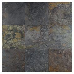 Peacock Select | Natural Cleft Slate Tile