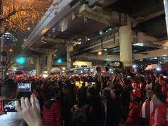 【悲報】道頓堀がアルゼンチンのサッカーファンにジャックされるwwwwwwwwww