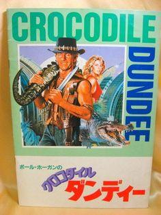 Movie Program Japan- CROCODILE DUNDEE /1987/ PAUL HOGAN, LINDA KOZLOWSKI