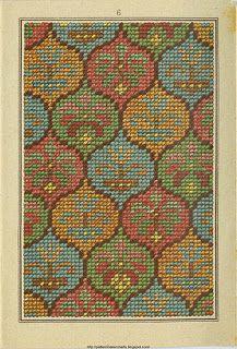 Free Easy Cross, Pattern Maker, PCStitch Charts + Free Historic Old Pattern Books: Sajou No 307