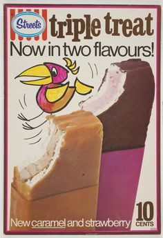 Loved triple treats, lime one and strawberry - my faves- don't recall caramel one. Marshmallow in middle
