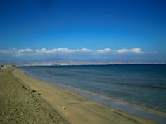 Lady's mile beach Cyprus