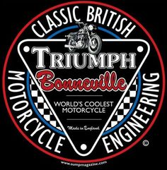 Classic British Motorcycle T-shirt from Sump