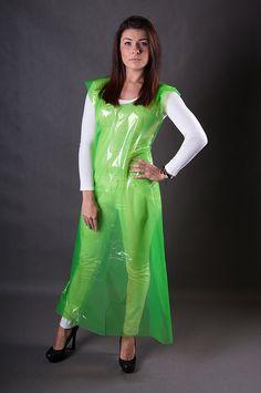 Short Skirts, Short Dresses, Summer Dresses, Plastic Aprons, Pvc Apron, Vinyl Skirting, Vinyl Clothing, Latex Girls, Rain Wear