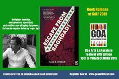 GOA ARTS & LITERATURE FESTIVAL 2015 VI TH EDITION 10TH - 13TH DECEMBER AT THE INTERNATIONAL CENTRE GOA  REGISTER NOW AT : www.goaartlitfest.com