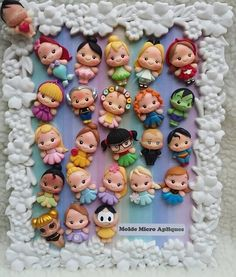 1 million+ Stunning Free Images to Use Anywhere Polymer Clay Disney, Cute Polymer Clay, Cute Clay, Polymer Clay Dolls, Polymer Clay Miniatures, Polymer Clay Charms, Polymer Clay Projects, Clay Crafts, Diy Arts And Crafts