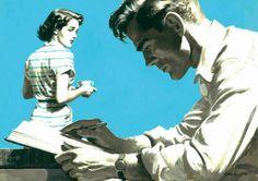 Color & Light - Arthur Saron Sarnoff -Be Sure to Stop - Nov. 1947...