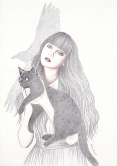 Black Cat by Andrea Hrnjak