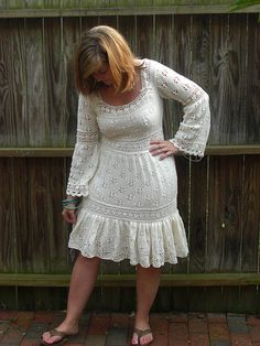 Ravelry: #09 Lacy Dress pattern by Shirley Paden